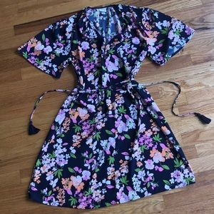 A New Day Floral Print Dress